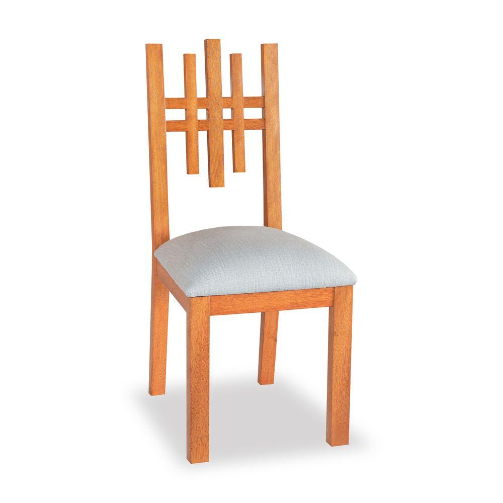 Silla de comedor madera sólida seike, comedores, sillas lineales, modernas, muebles para el hogar, Quito, Ecuador