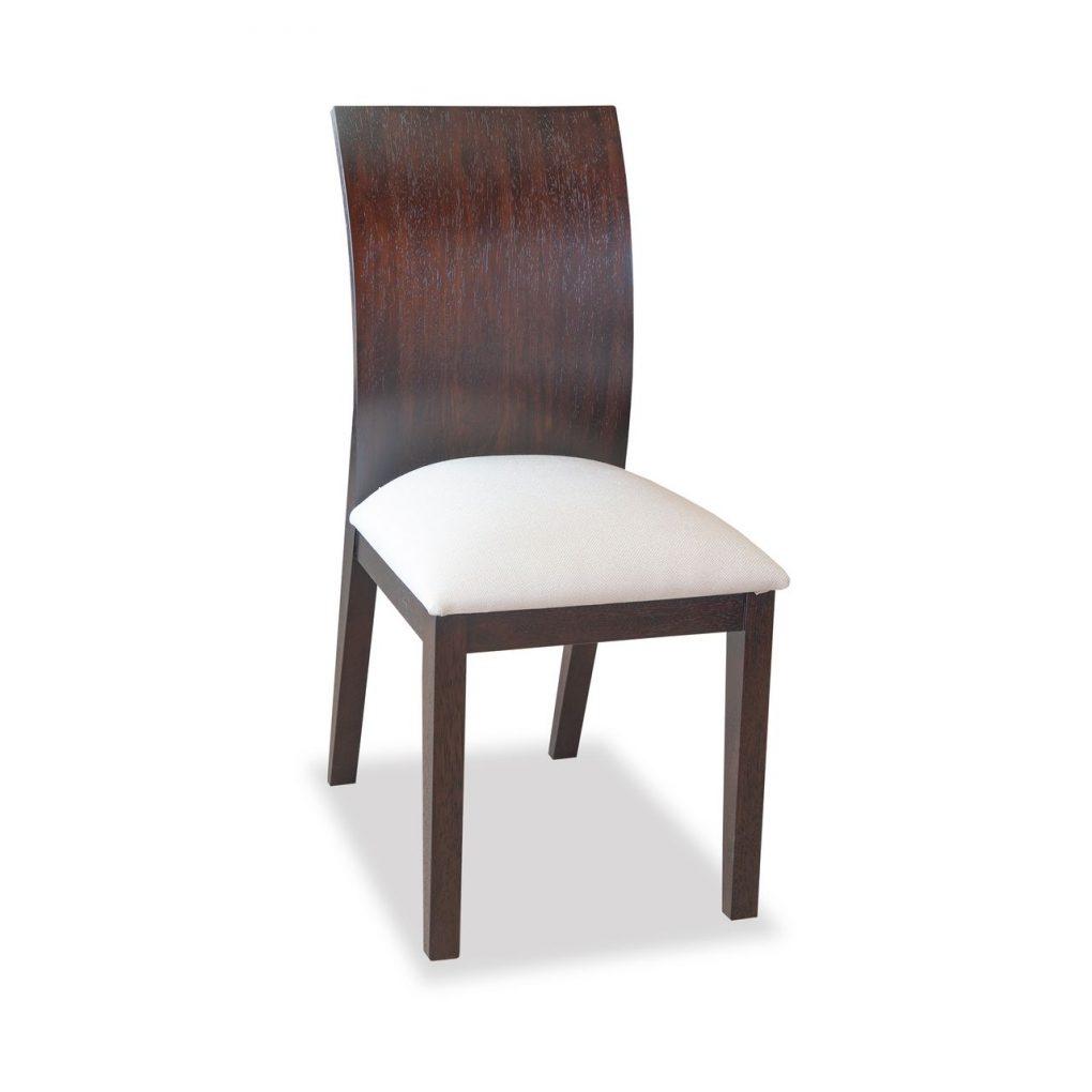 Silla de comedor madera sólida de seike color wengue, sillas de comedor, muebles hogar, Quito, Ecuador