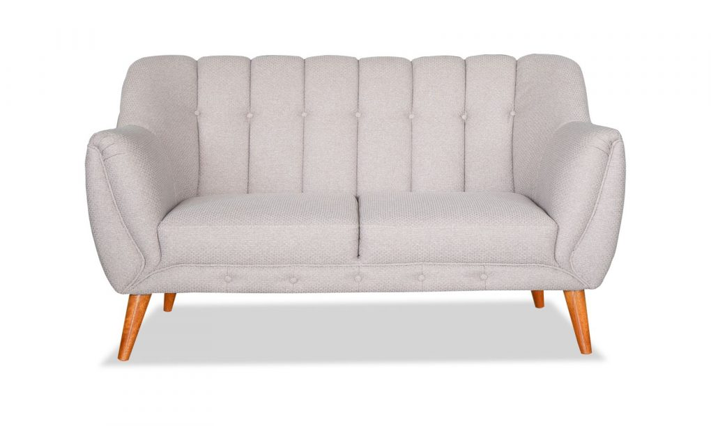 Sofá doble estilo nórdico color beige