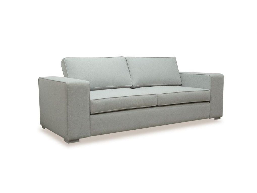 Sofá lineal moderno color gris