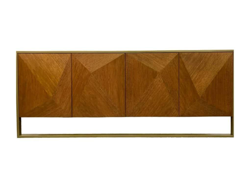 Bufetero madera con metal